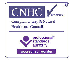 Reflexology and Nerve Reflexology. new cnhc logo